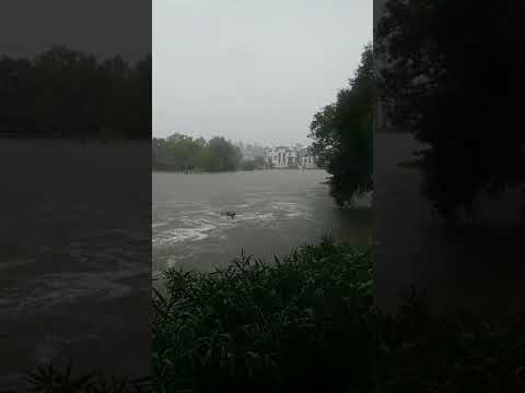 The Woodlands Texas Flooding >> Tropical Storm Harvey Flooding In The Woodlands TX 2017 ...