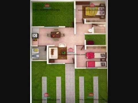 planos de casas 8x17