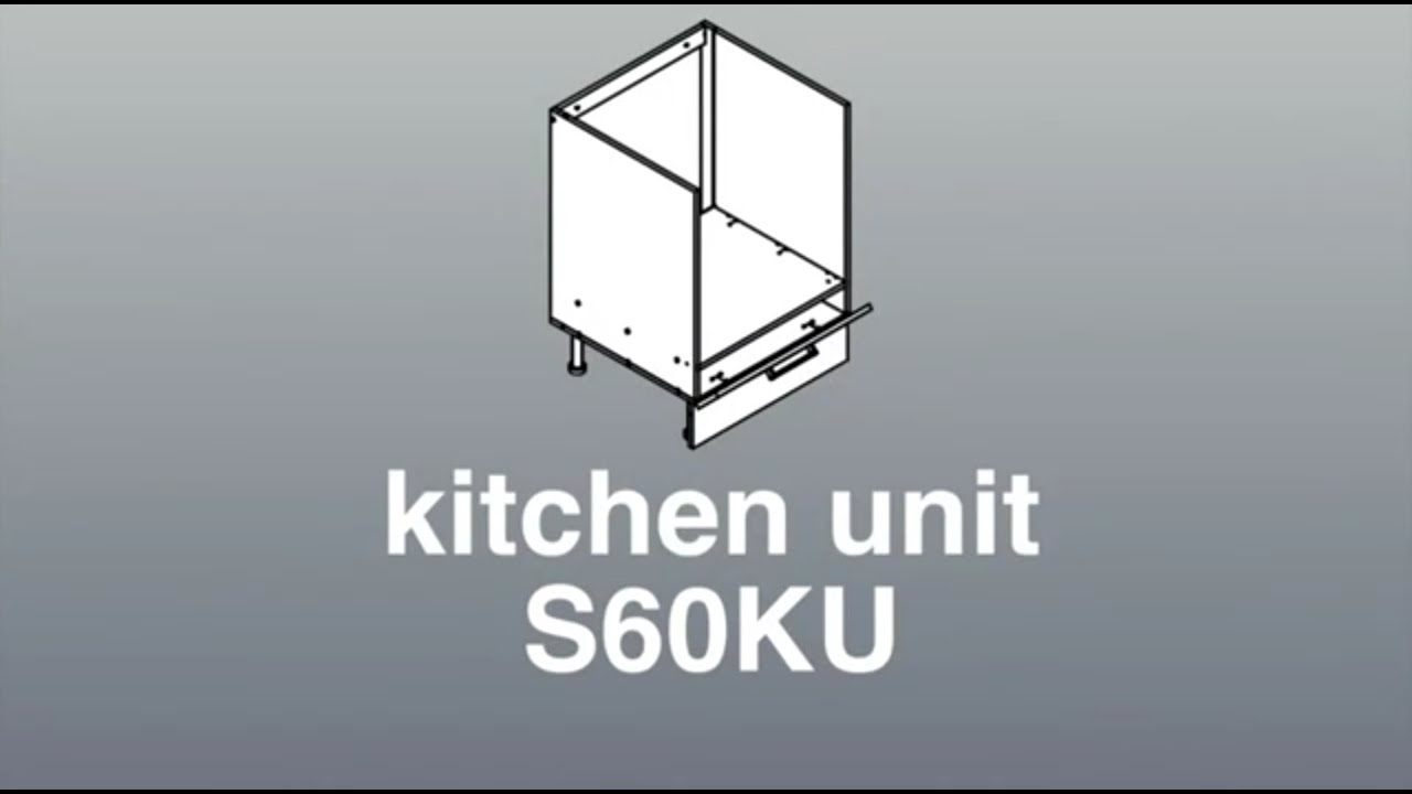 Base oven cabinets - Assembly For 600mm Wide Base Oven Cabinet Julia Kitchen Cabinets And Stones