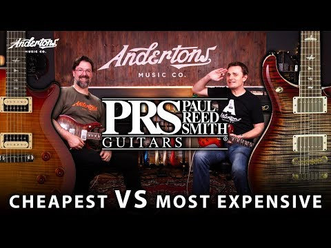 £5000 PRS Guitar vs £700 PRS Guitar - Are the Expensive Ones
