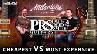 £5000 PRS Guitar vs £700 PRS Guitar - Are the Expensive Ones Worth It??