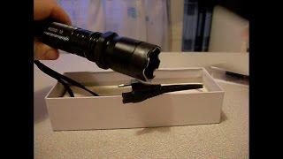 Электрошокер фонарик(Короткий обзор электрошокера фонарика Police. Police flashlight stun gun 1 mega volt rewiew., 2014-01-10T13:26:18.000Z)