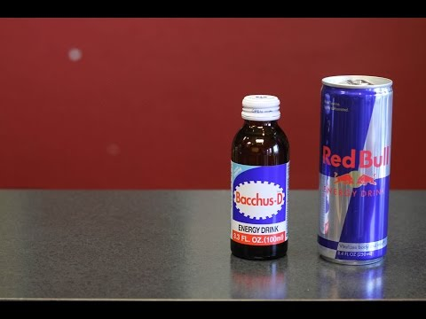 Red Bull vs. Bacchus-D a Korean Energy Drink