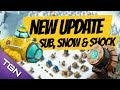 BRAND NEW BOOM UPDATE!!! - Submarine, Shock Launcher and SNOW?!?!