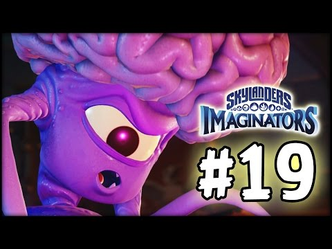 Skylanders Imaginators - Gameplay Walkthrough - Part 19 - The Brain Free!