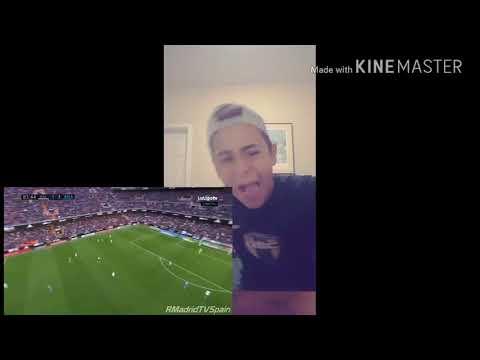 Real madrid 4-1 Valencia Reacción