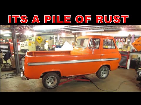 Ratty Rusty Econoline Pickup, Can It Be Saved From The The Tin Worms?
