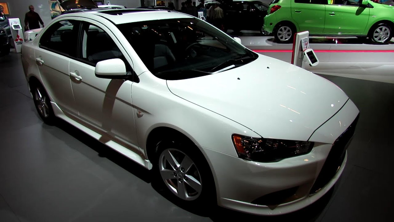 2013 mitsubishi lancer gt awc exterior and interior walkaround 2013 montreal auto show youtube