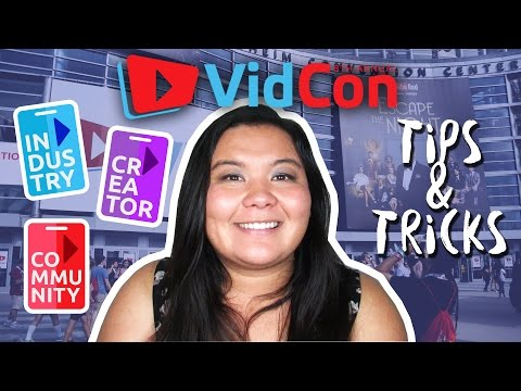 VidCon Tips and Tricks + Community and Creator Pass Info || Lindsay Burton