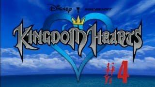 Kingdom Hearts Walkthrough Part 4 - Alice in Wonderland Pt. 1 [PS2 Classics]