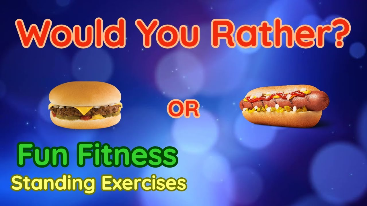 Download Would You Rather? WORKOUT - At Home Fun Fitness Activity - Physical Education - Standing #1