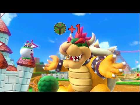 Mario Party 10 - Mushroom Park (Bowser Vs. Team Mario) Peach, Spike, Rosalina, Mario #125