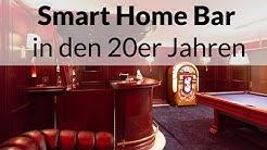 Smart Home Bar im Stil der 20er Jahre – Billardzimmer mit Jukebox | Smart Home Rundgang