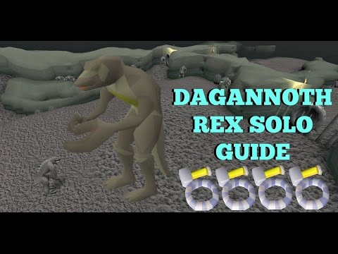 OSRS - Dagannoth Rex Solo Guide