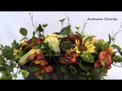 Fall Bounty Silk Fl Arrangement