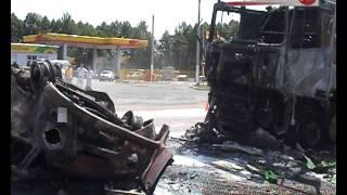 Жуткая трагедия на брянской трассе