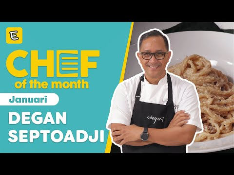 RESEP SPAGHETTI CARBONARA - CHEF DEGAN SEPTOADJI | #CHEFOFTHEMONTH JANUARI'21 | ENDEUS.TV