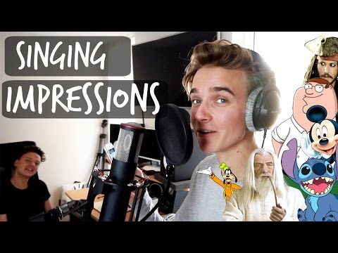SINGING IMPRESSIONS WITH CONOR MAYNARD