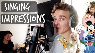 SINGING IMPRESSIONS WITH CONOR MAYNARD thumbnail