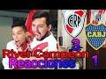 River vs Boca Reacciones de un hincha de River |Final Copa Libertadores|