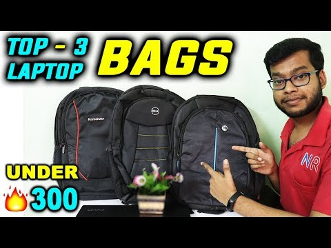 Best Laptop Bag Under 300 | Lenovo, Dell, HP Laptop Backpack | 15.6 inch Laptop Bag Under 500