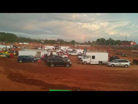 Stock 4 Heat 2  7/30/16 Cherokee Speedway