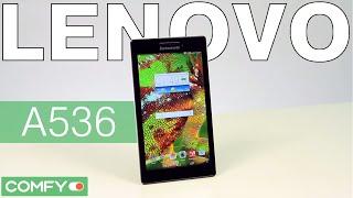 Lenovo A536 -бюджетный смартфон с большим экраном - Видеодемонстрация от Comfy.ua