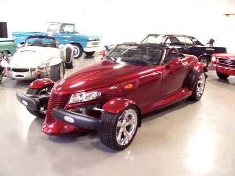 2002 Chrysler Prowler Deep Candy Red Pearl For Now With Super Charger