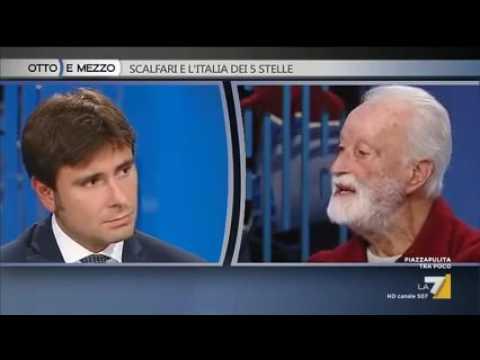 Alessandro Di Battista ospite a Otto e Mezzo - 3 Novembre 2016