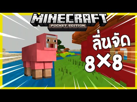 ♦️เเจกทิจเจอร์เเพค 8×8 Minecraft #สเป็คต่ำ-สเป็คสูง - 동영상