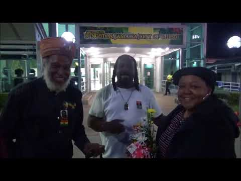 THE BRITISH POET CARLA KENNEDY ARRIVED IN JAMAICA