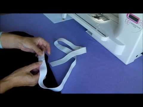 Sewing Straight leg knit pants tutorial