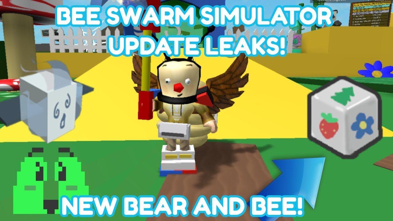 Bee Swarm Simulator Update Leaks Robot Bear And Ghost Bee Youtube