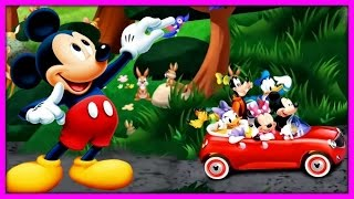 Mickey's Wildlife Count Along - Mickey Mouse Clubhouse Games For Kids | KIDS CLUB 123