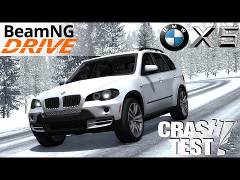 Repeat BeamNG Drive Mod : BMW X5M Hrom (physics Crash test