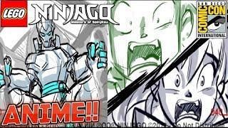 NINJAGO ANIME 100% CONFIRMED! 😍🔥 (Ninjago SDCC News!)