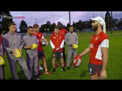Arsenal vs AFL's Sydney Swans | Arsenal Tour 2017