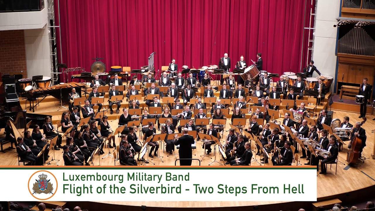 Flight of the Silverbird - Two Steps From Hell (Luxembourg Military Band)