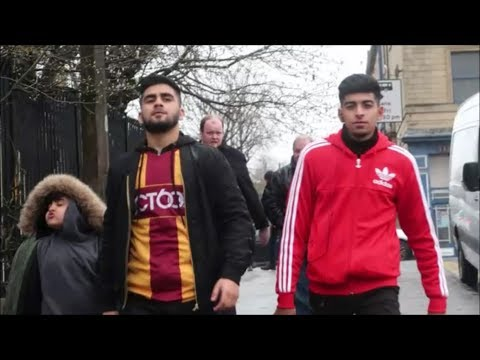 KICKED OUT OF THE STADIUM. *NOT CLICKBAIT* (BRADFORD CITY VS MK DONS) MATCHDAY VLOG!