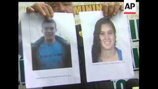 Peruvian police said Wednesday they were seeking as a suspect in a weekend murder a Dutchman twice a