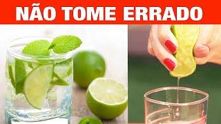 Como Usar Corretamente a Agua com Limão Para Emagrecer e Ajudar na Saúde