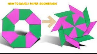 Xếp giấy Origami-Hướng dẫn gấp phi tiêu ninja 8 cánh