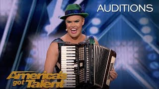 Hans: International Superstar Wows The AGT Judges - America's Got Talent 2018