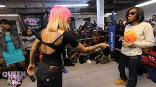 babs bunny vague presents queen of the ring don ladyii vs qb black diamond