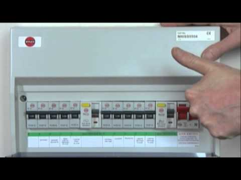 resetting trip switches on your fuse box youtube rh youtube com  green switch on fuse box