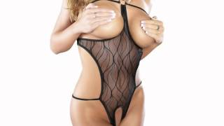 Repeat youtube video Exposed -Exiting Hot! Cupless and Crotchless Teddy Exotic Apparel.mp4