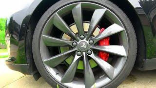 Tesla Motors Model S: P90DL Walk Around! Delivery 4K UltraHD