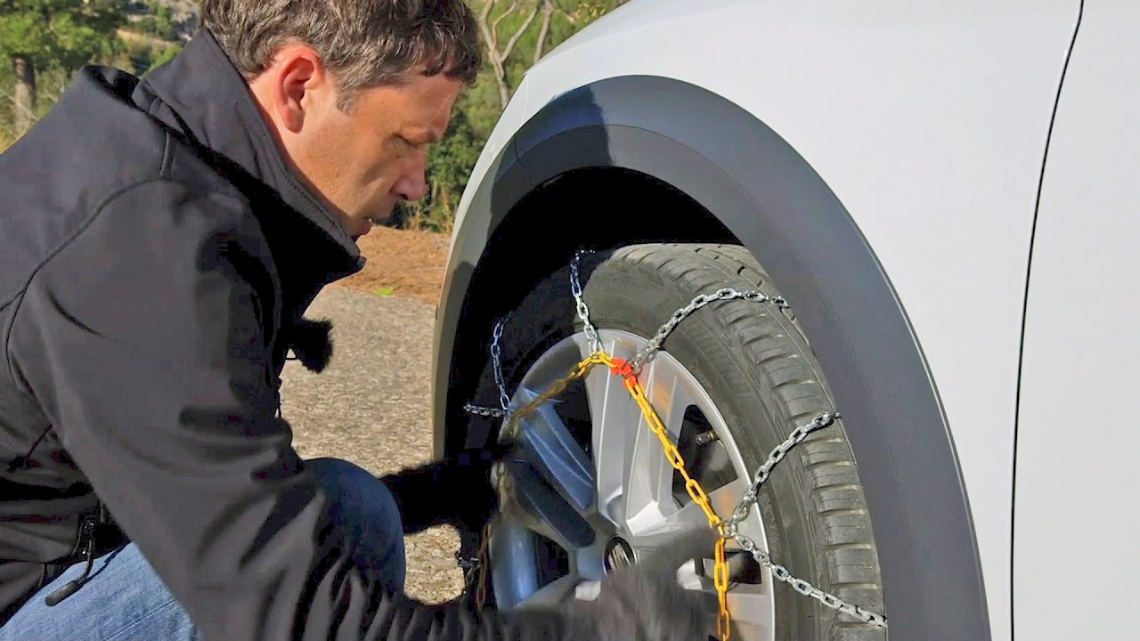 How to Install Car Snow Chains