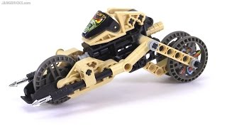 "LEGO Technic Robo Riders ""Dust"" from 2000! set 8513 review"