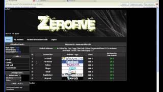 www.zerofive.c.la شرح مفصل لموقع الصفحات المزورة